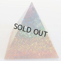 画像1: 波動、気の浄化で幸運力をアップ・ピラミッド型オルゴナイト B