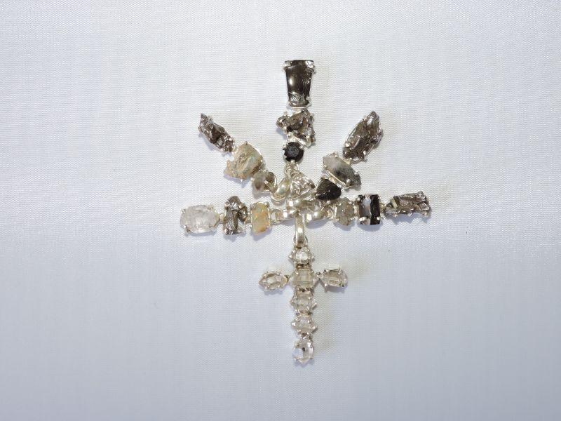 画像: 波動の高いドリームストーン【ハーキマーダイヤモンド】シルバーペンダント